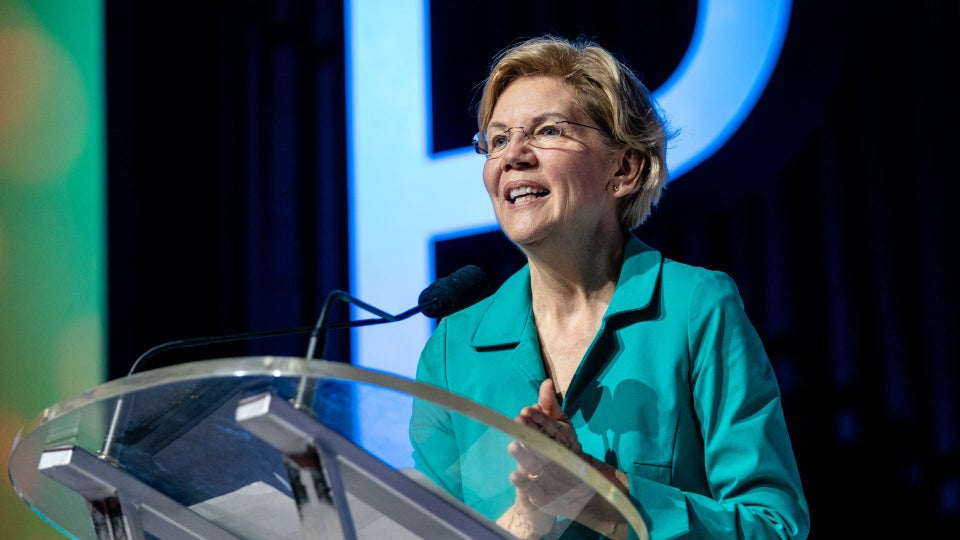 Elizabeth Warren Claps Back At Facebook After They Come For Her Tech Proposal
