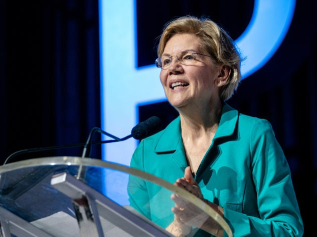 Elizabeth Warren: 'It's Time To Create Change For People Not Born Into Privilege'