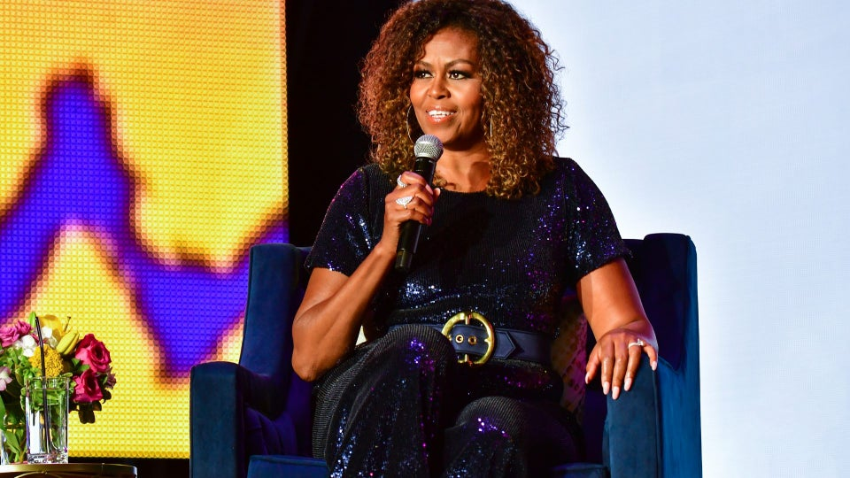 Here's Where to Snag Michelle Obama's Essence Festival Sequin Jumpsuit