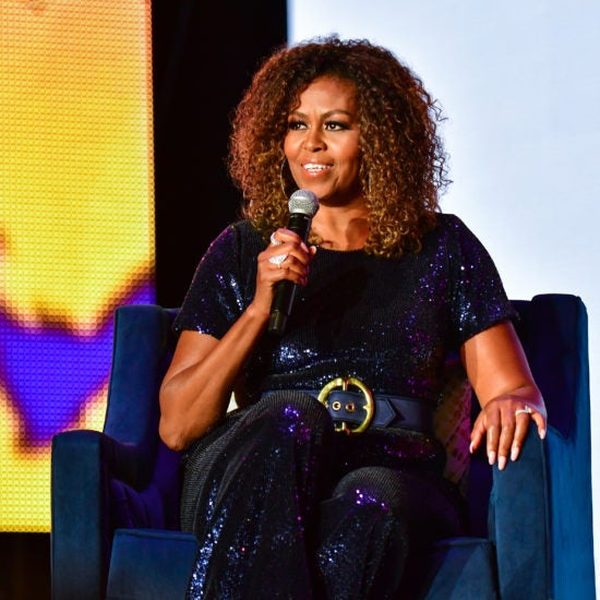 Get The Look! Here's Where to Snag Michelle Obama's Essence Festival Sequin Jumpsuit