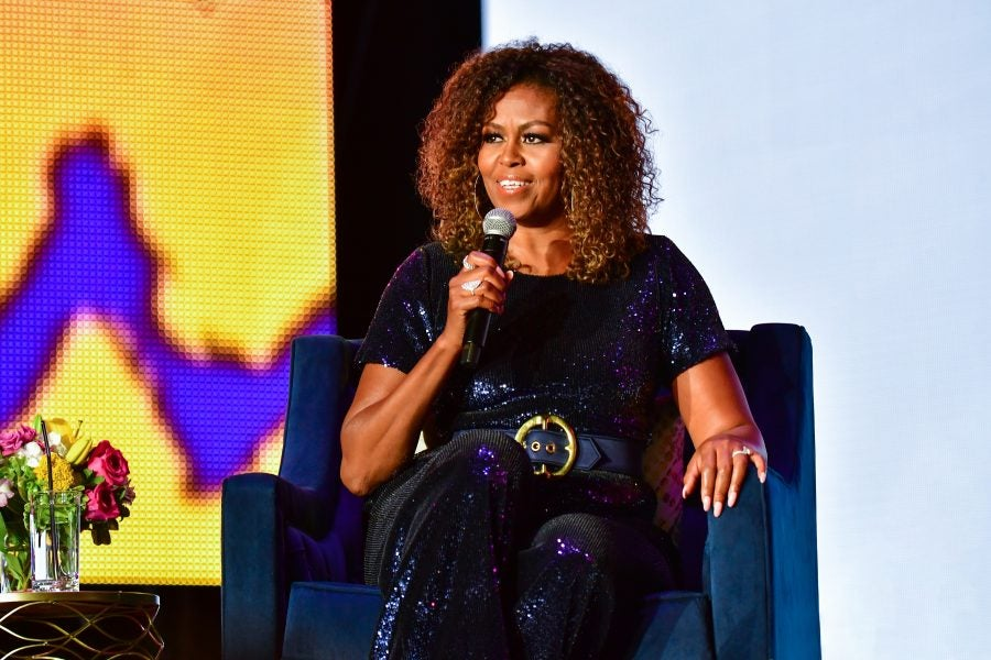 Here's Where to Snag Michelle Obama's Essence Festival Sequin ...