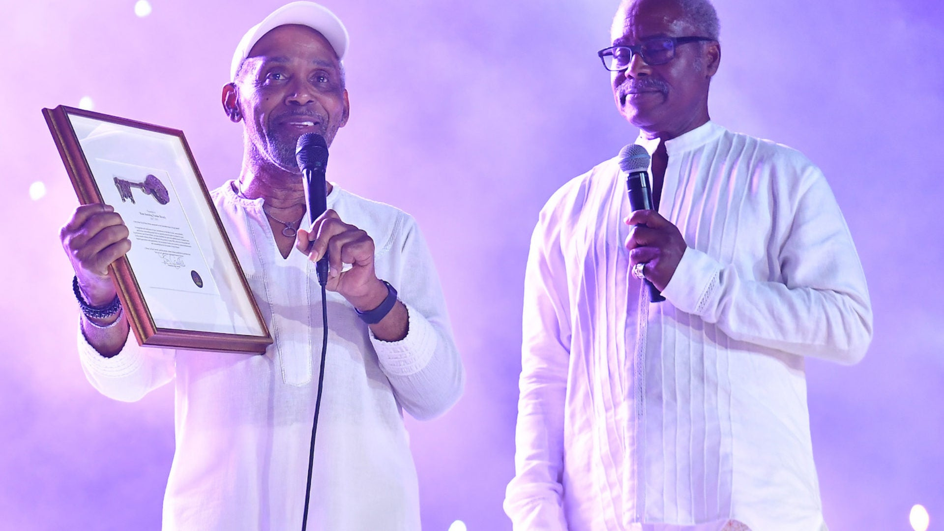 Frankie Beverly Receives Key To New Orleans At 2019 Essence Fest