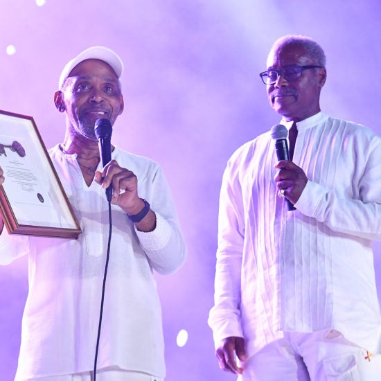 Frankie Beverly Receives Key To New Orleans At Essence Fest