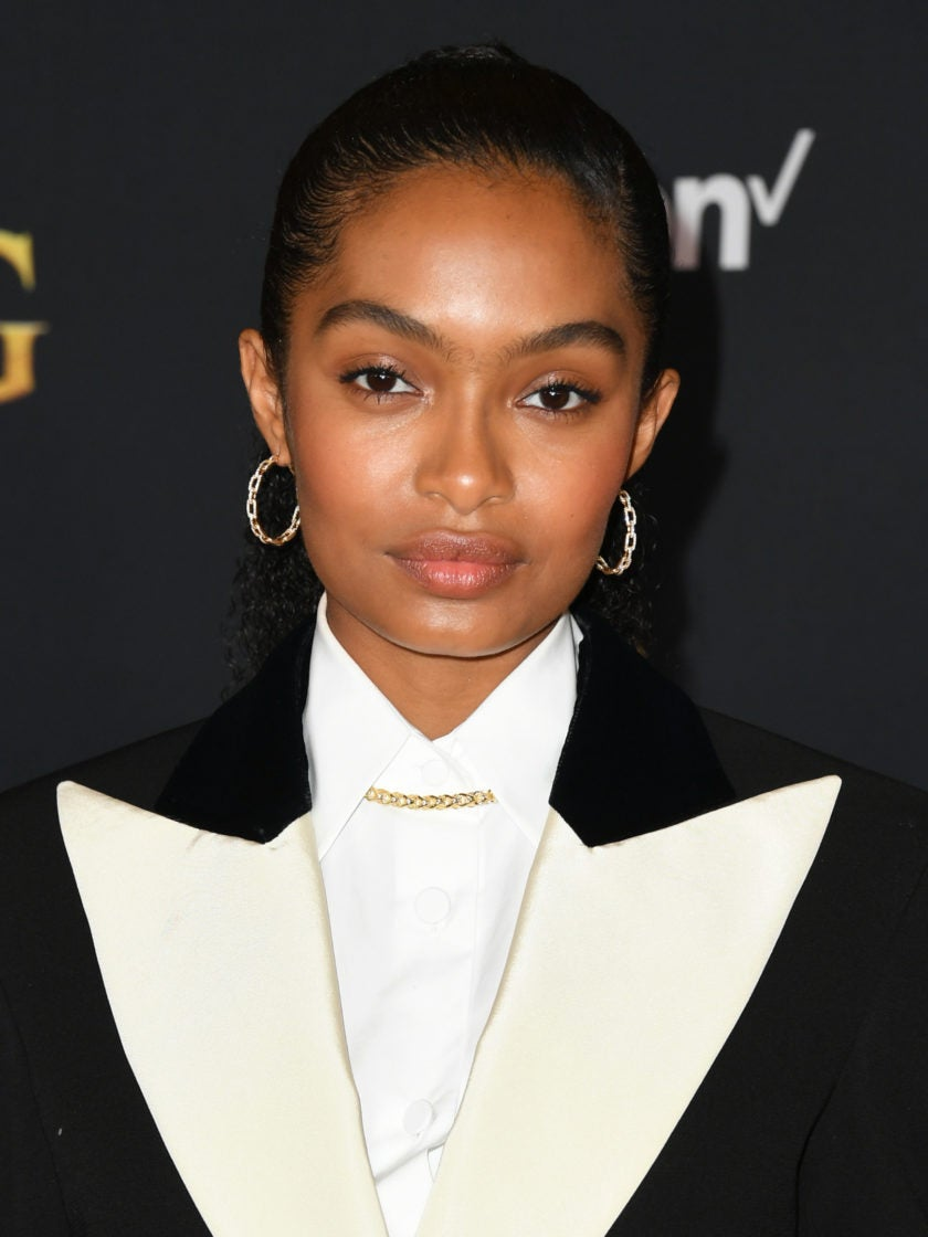 Donald Glover and Yara Shahidi Shut It Down In Gucci At The 'Lion King' Premiere