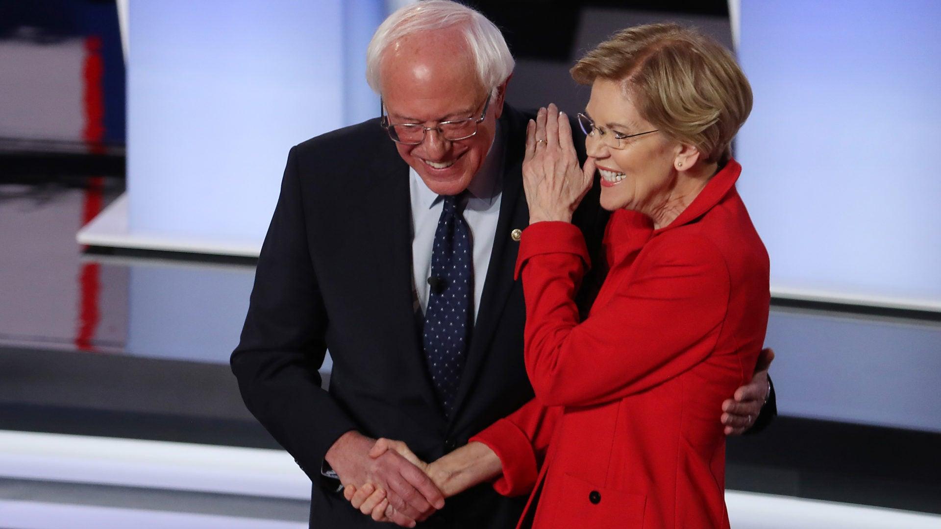 Opinion: Bernie Sanders And Elizabeth Warren Take On The Unimaginative Centrists In CNN Debate