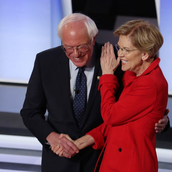 Opinion: Bernie Sanders And Elizabeth Warren Take On The Unimaginative Centrists In CNN Debate