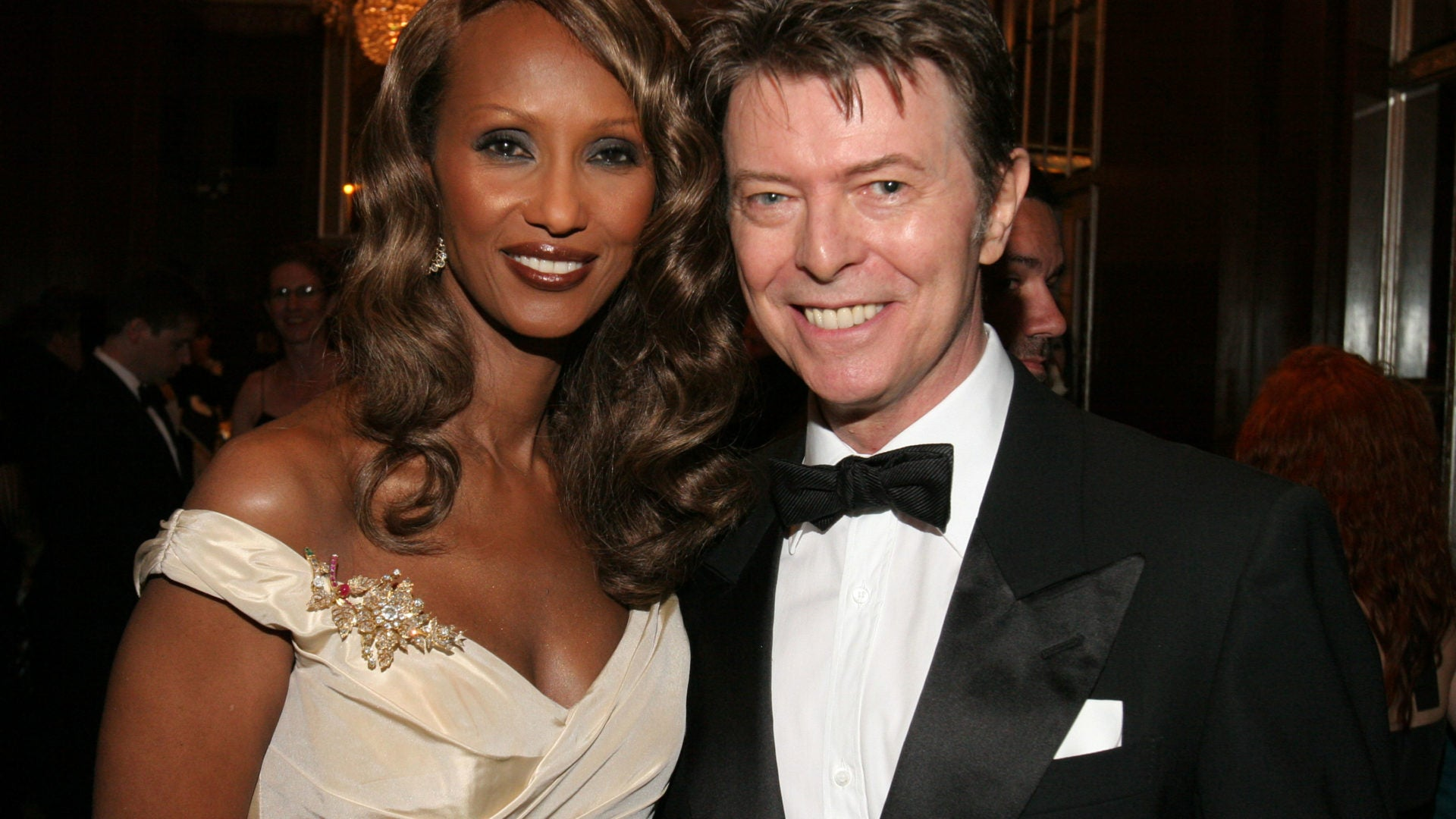 Iman Remembers Her Late Husband David Bowie Essence