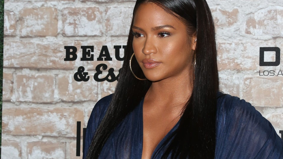 Cassie Debuts Her First Photos Of Bare Baby Bump In Birthday Maternity Shoot