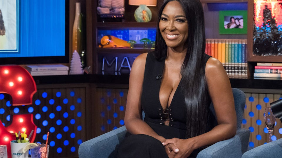 Kenya Moore's Inches Are Gone With The Wind Fabulous