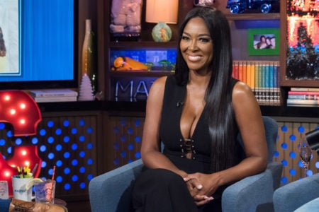 Kenya Moore In Good Spirits Follow Her Divorce News