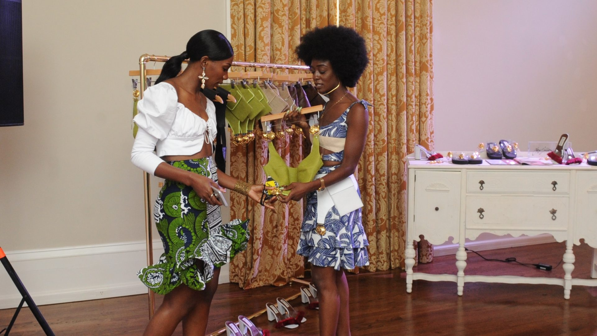 Loza Maléombho Brought The Looks To ESSENCE Fashion House