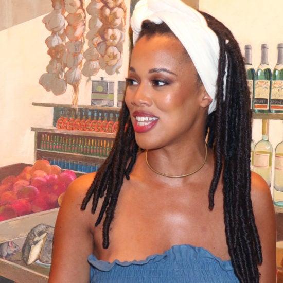 Lauren Ash of 'Black Girl in Om' Brings a Moment of Meditation to ESSENCE Festival