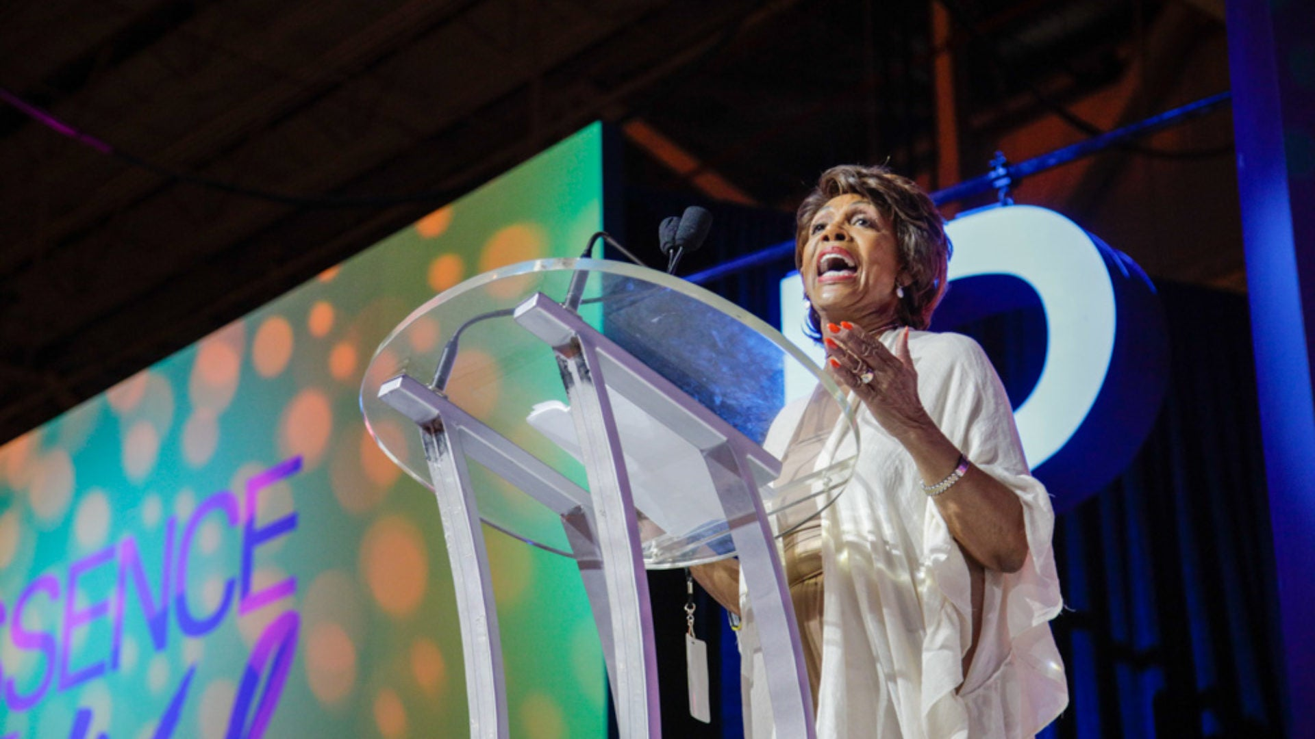 Rep. Maxine Waters Reminds Black Women At Essence Festival: 'We Don't Take S–t From Nobody'