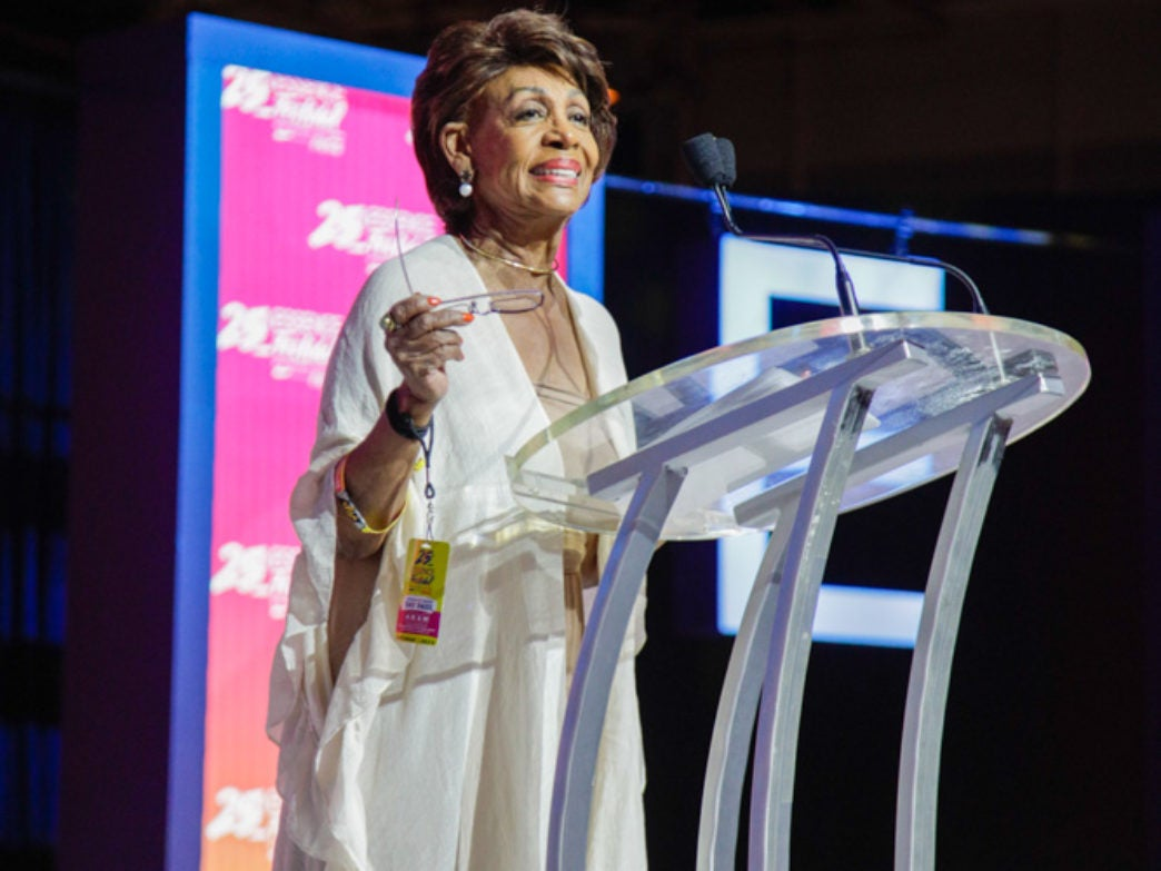 Rep. Maxine Waters Reminds Black Women At Essence Festival: 'We Don't Take S— From Nobody'