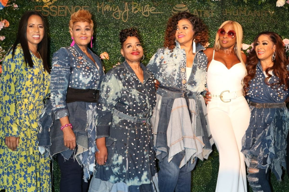 Mary J  Blige Celebrates Clark Sisters, Cicely Tyson At Essence