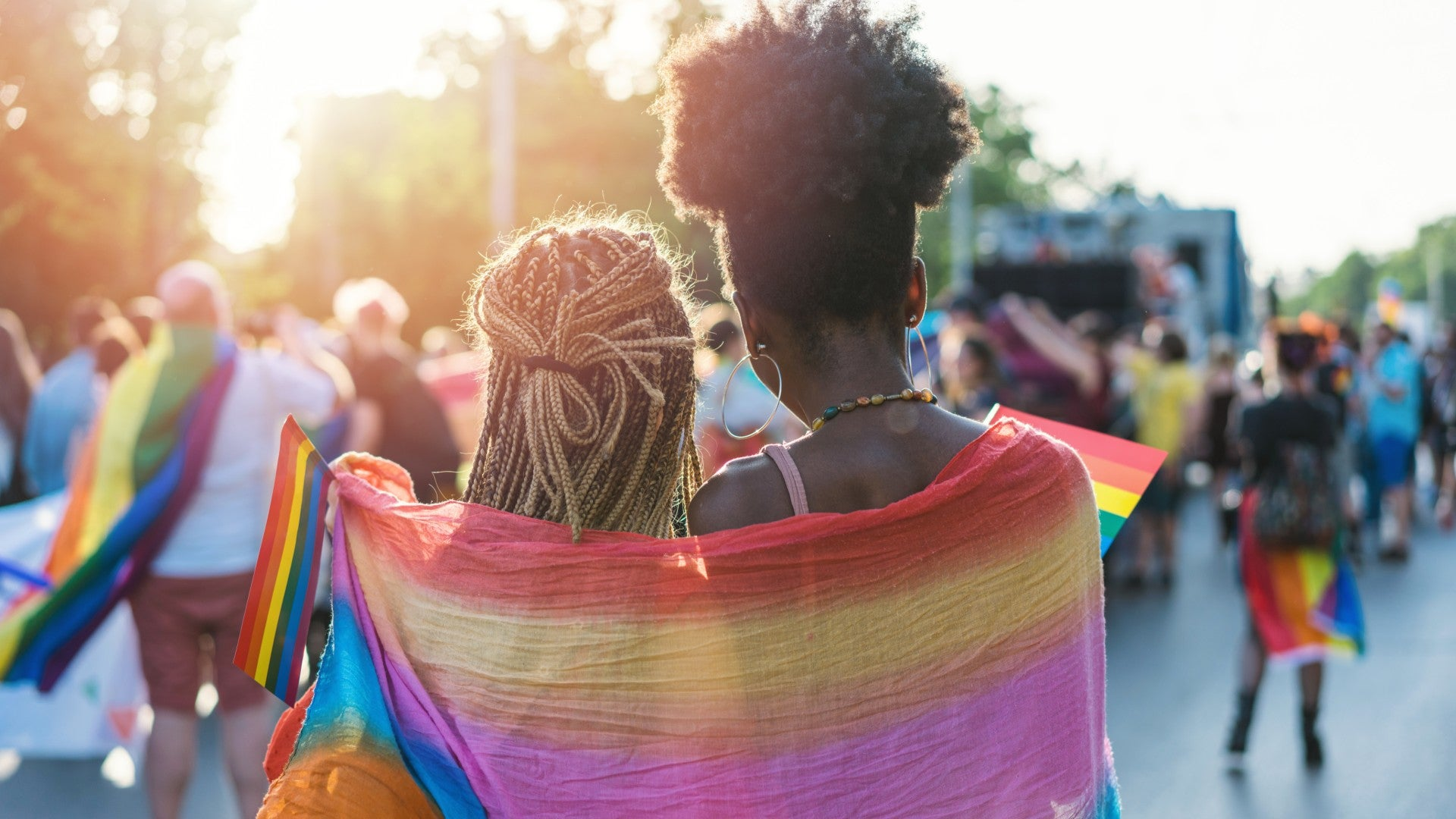 Our Favorite Instagram Rainbow Hair Moments From Pride Month