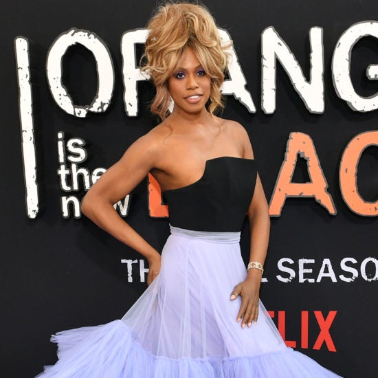 Laverne Cox, Danielle Brooks, Laura Harrier, And More Celebs Out And About