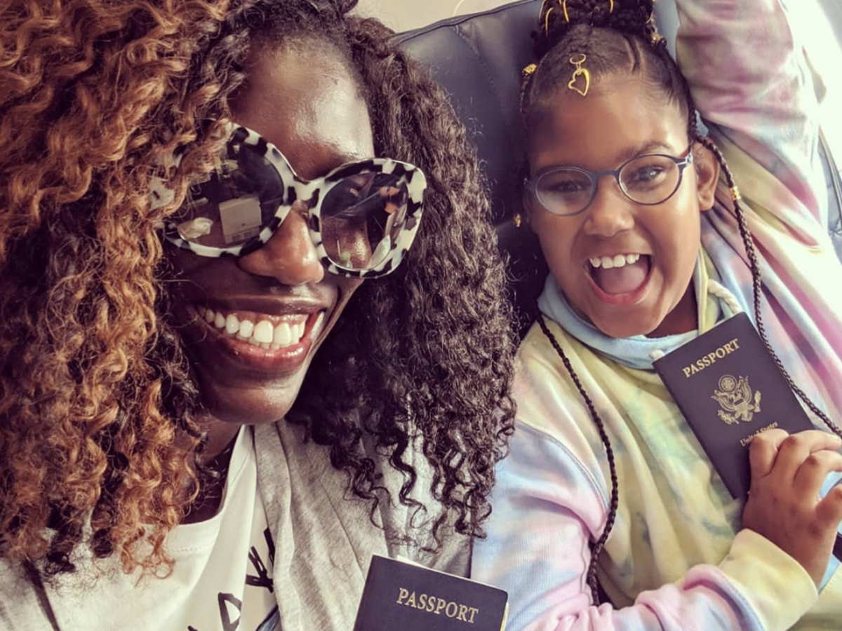 #GOALS: Bozoma Saint John And Her Daughter Lael Are On The Cutest European Escape