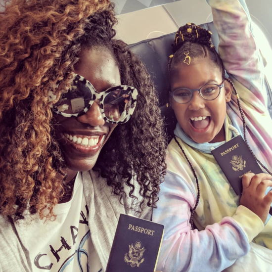 Bozoma Saint John And Her Daughter Lael Are On The Cutest European Escape