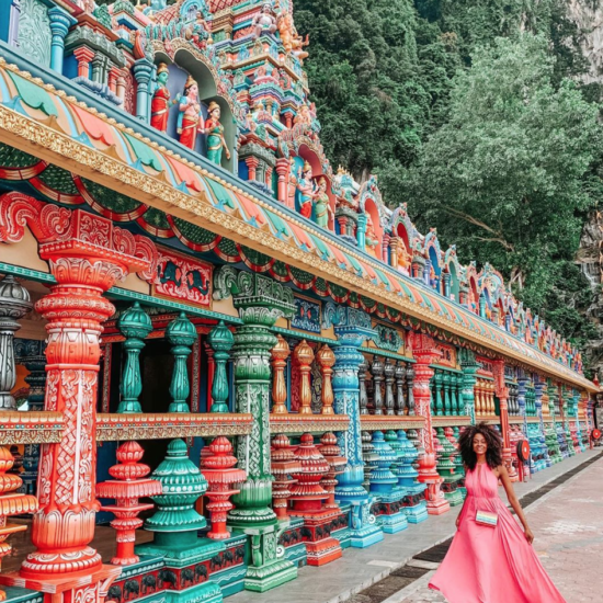 Black Travel Vibes: The Colorful Streets of Kuala Lumpur Will Bring You Joy