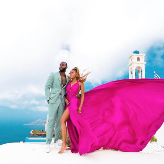 Greek Romance! These Couples Filled The Streets Of Santorini With Beautiful Black Love