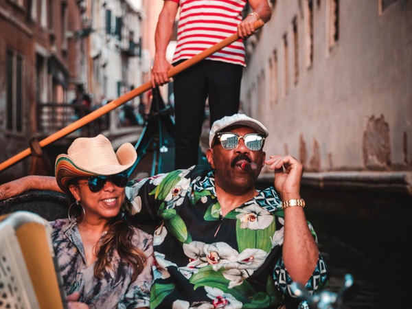 That's Amoré! Marjorie And Steve Harvey Celebrate 12 Years Of Love In Italy