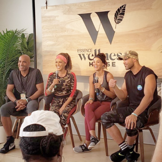 Boris Kodjoe and Nicole Ari Parker Launch 'Kofit' Wellness App At Essence Fest