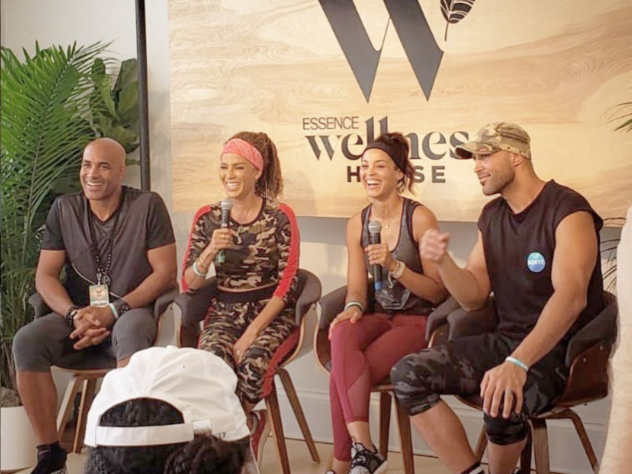 Boris Kodjoe and Nicole Ari Parker Launch The 'KOFIT' Fitness App At Essence Festival