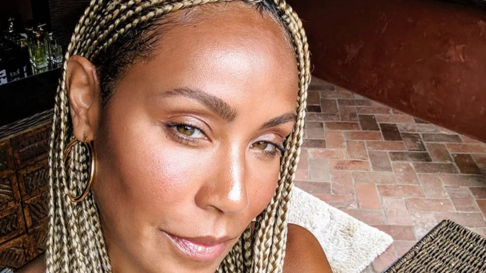 Jada Pinkett Smith Keeps Her Braids Fresh With This Affordable Scalp Treatment
