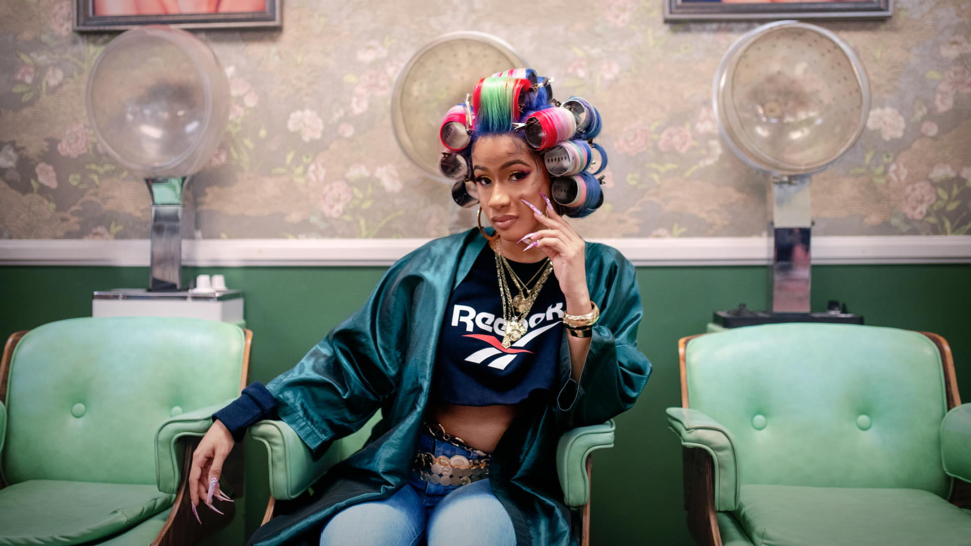Reebok Tabs Cardi B and Her Nails For Its Latest Campaign
