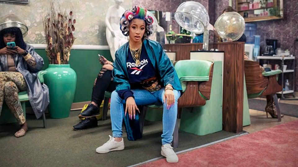 Cardi B Nails It Again In New Reebok Ad