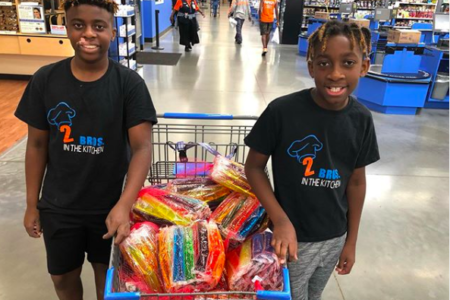 Texas Brothers, 12 And 13, Run Their Own Bakery, Give Back To Their Community