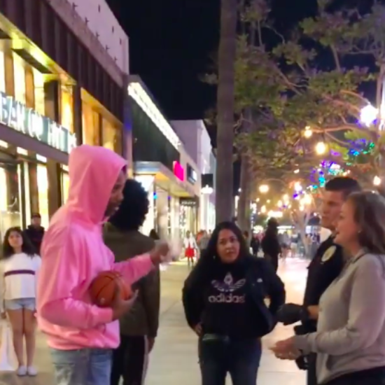 Black Family Says They Were Accused Of Stealing $12 Basketball At Santa Monica Nike Store