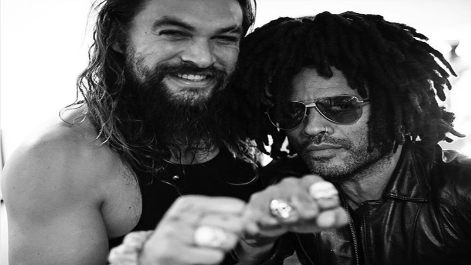 Lenny Kravitz Talks Blended Families, Says Ex-Wife Lisa Bonet's Husband Is 'Like A Brother' To Him