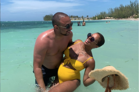 Oh Baby! Eva Marcille and Michael Sterling Did A Fabulous Babymoon In Jamaica