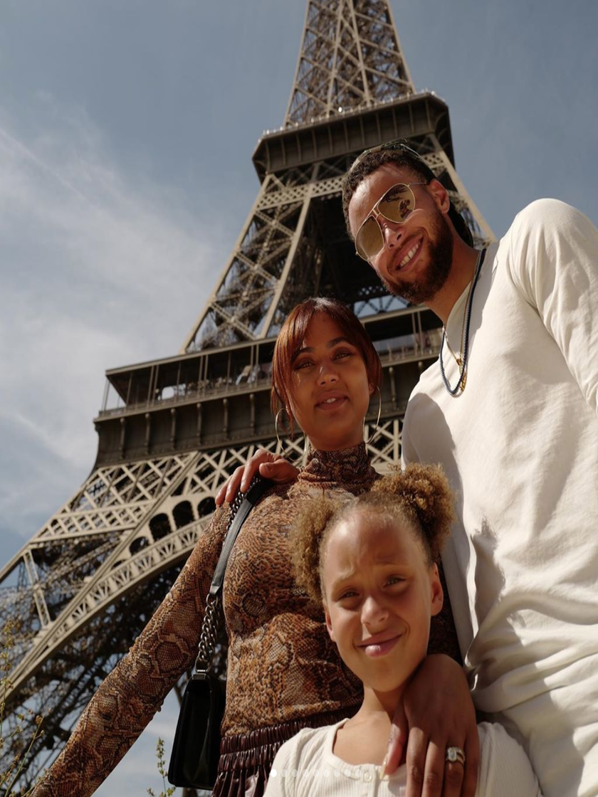 Bon Anniversaire! Ayesha And Steph Curry Celebrate Daughter Riley's Birthday In Paris