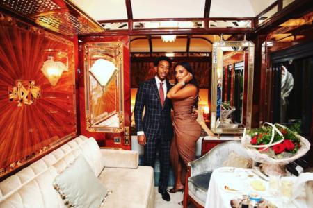 Ludacris and Eudoxie's Romantic Train Ride Through Europe Has Us Swooning