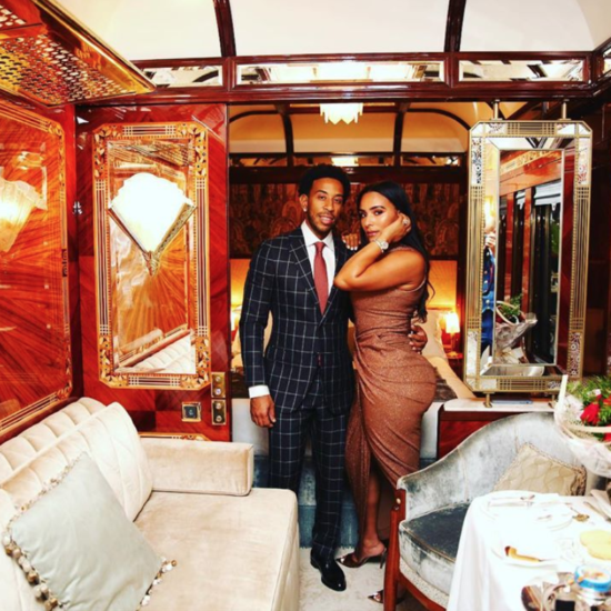 Ludacris and Eudoxie's Romantic Train Ride Through Europe Has Us Swooning