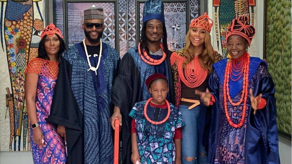 Tamar Braxton Is Visiting Her Boyfriend's Family In Nigeria