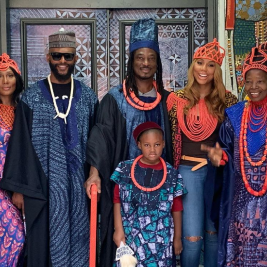 Tamar Braxton Looked Like Royalty Visiting Her Boyfriend's Family In Nigeria