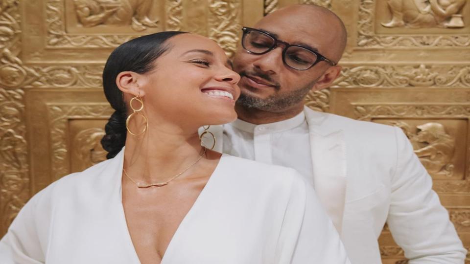 Alicia Keys and Swizz Beatz Celebrate 9 Years Of Marriage