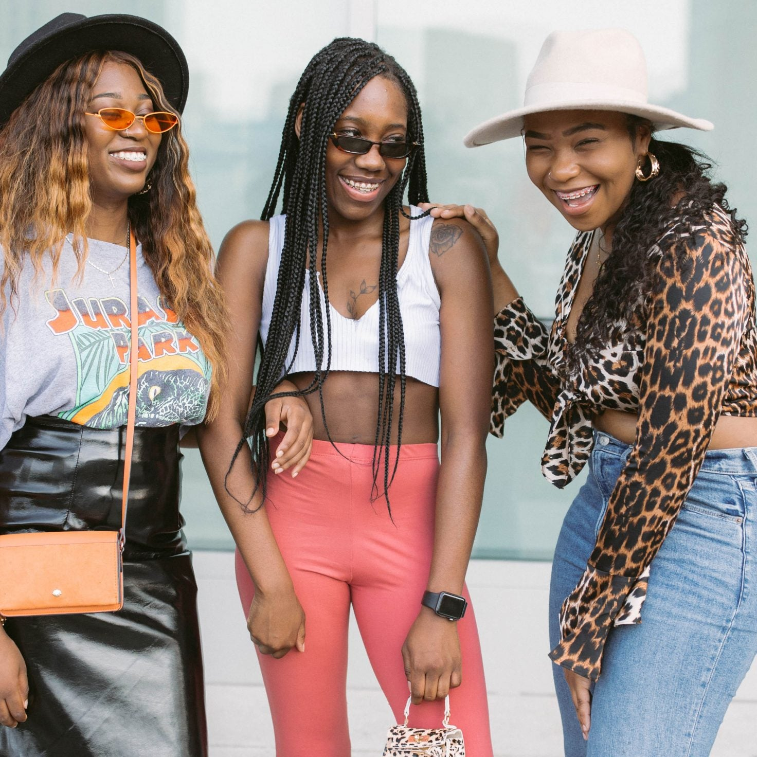 Move Over Flossy Posse! These Girl Squads Were Too Cute For Words At Essence Festival
