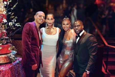The Stars Were Out To Celebrate Kevin Hart's 40th Birthday Party