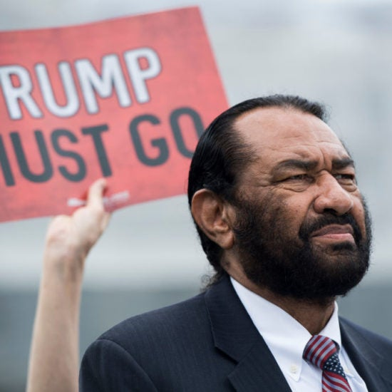 Democratic Rep. Al Green To File Articles Of Impeachment Against Trump