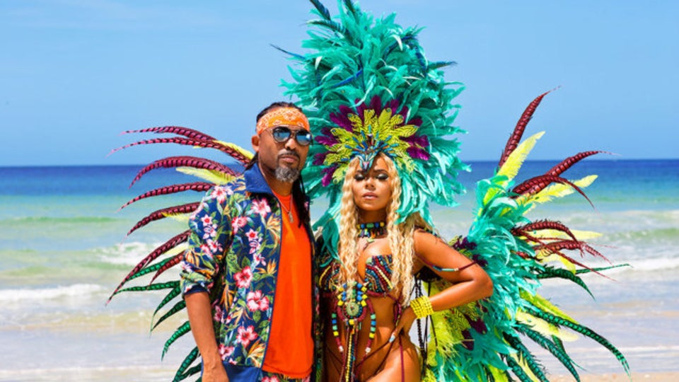 Ashanti Stuns In Carnival-Themed Music Video With Soca King Machel Montano