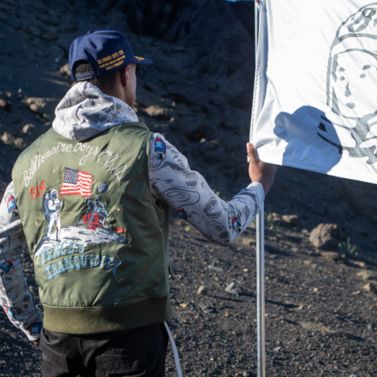 Billionaire Boys Club Is Celebrating The 5oth Anniversary of NASA's Moon Landing