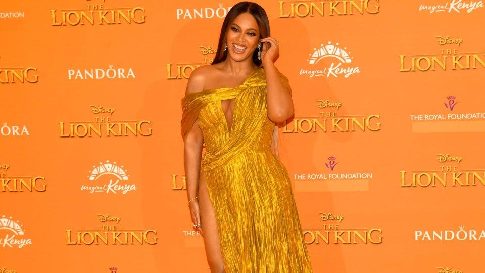 Beyoncé's London Lion King Premiere Wadrobe Details
