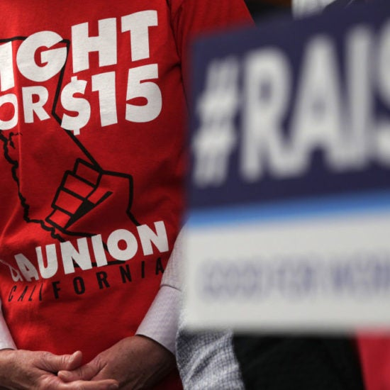 House Votes Yes To Lifting Minimum Wage To $15