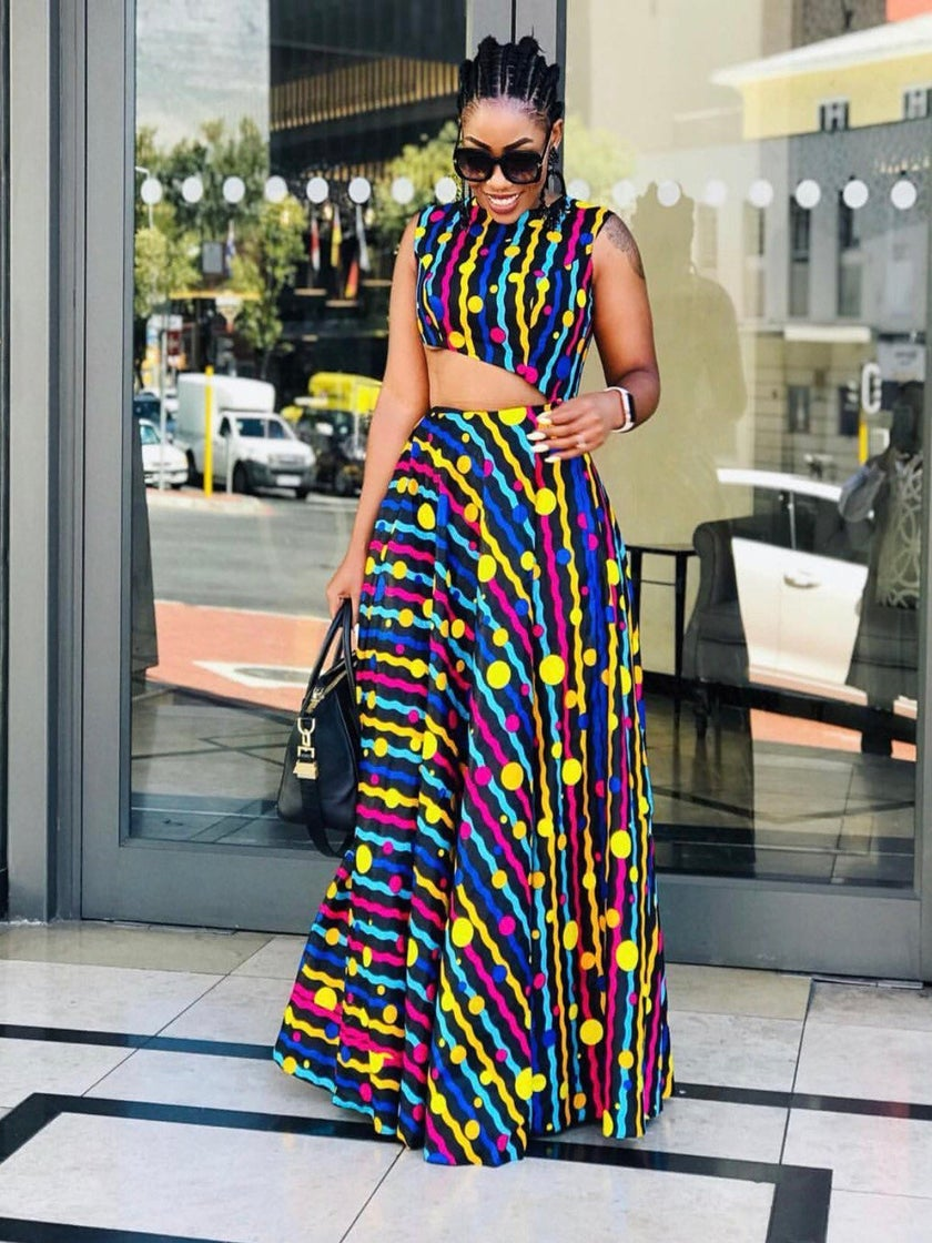 These Ankara Printed Summer Dresses Are Giving Us So Much Life