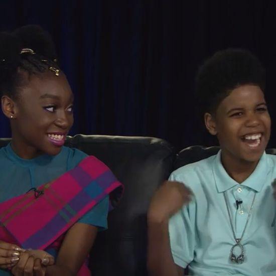 WATCH: 'The Lion King's' Youngest Stars Had The Cutest Reaction To Meeting Beyonce For The First Time